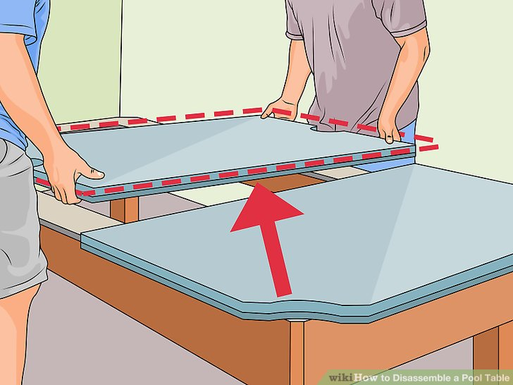 three piece slate pool table assembly instructions